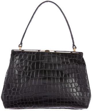 Miu MiuMiu Miu Embossed Leather Bag
