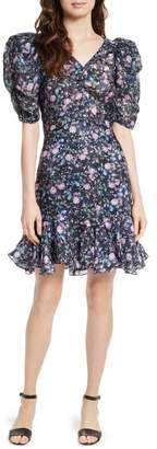 Rebecca Taylor Ruby Floral Organza Dress