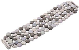 Michael Aram Molten Five-Strand Bracelet w/ Pearls