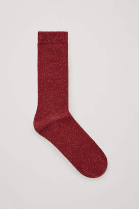 Cos SPECKLED WOOL SOCKS