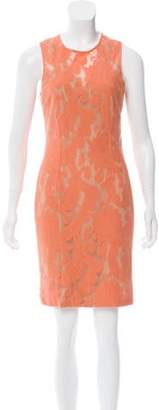 Yigal Azrouel Lace Sheath Dress