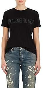 "Helmut Lang RE-EDITION Women's ""Tom Of England"" Cotton T-Shirt - Blk"