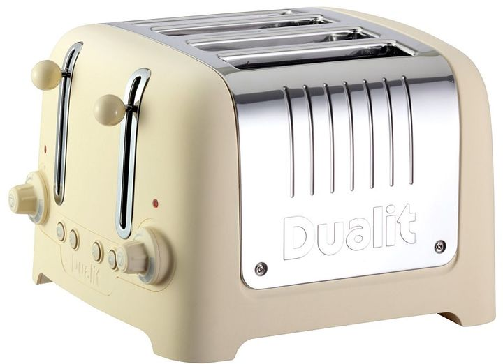 Dualit lite 4-slice soft touch chunky toaster