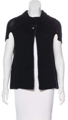 Schumacher Wool Short Sleeve Cardigan