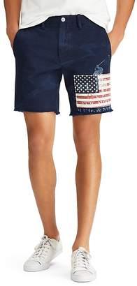 Polo Ralph Lauren Straight Fit Flag Shorts