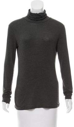 Max Mara Weekend Long Sleeve Turtleneck Knit Top