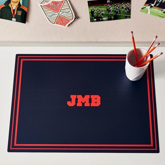 Pottery Barn Teen Solid Personalized Desk Mat