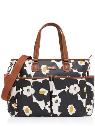 Babymel Motherhood Maternity Bella Diaper Bag- Black Floral