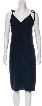 Jenni Kayne Silk Sleeveless Midi Dress w/ Tags
