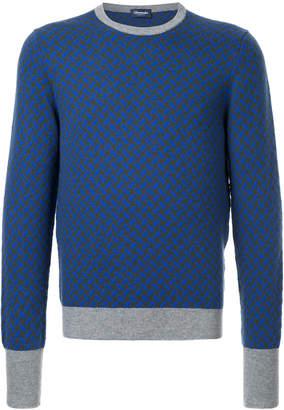Drumohr contrast colour sweater