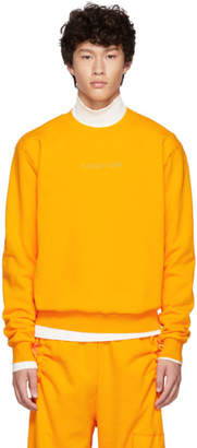 Feng Chen Wang Orange The Way Home Sweatshirt