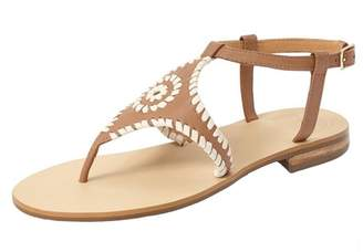 Jack Rogers Cognac Whipstiched Sandal