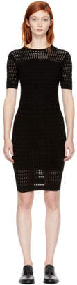 Alexander Wang Black Float Stitch Dress
