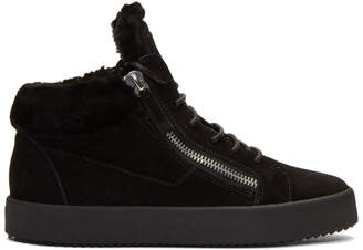 Giuseppe Zanotti Black Sensory May High-Top Sneakers