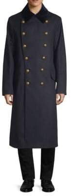 Burberry Wool Military Coat