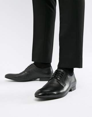 Dune Saffiano Shoes In Black Leather