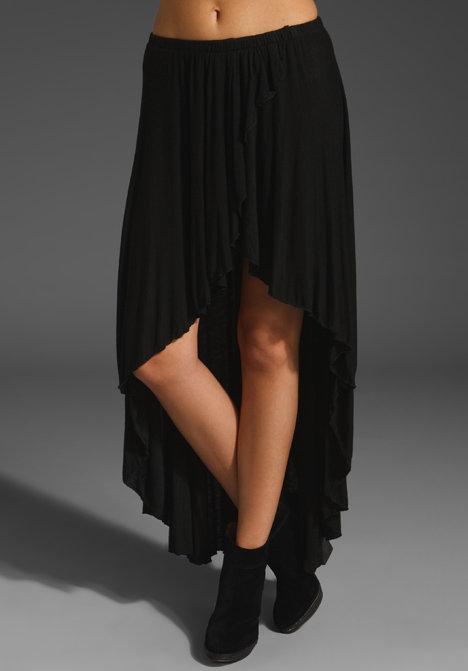 Brandy Melville Cameron High Low Skirt
