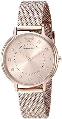 Emporio Armani Women's Quartz Stainless Steel Casual Watch