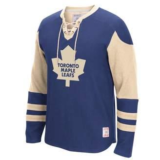 Reebok CCM Long Sleeve Jersey Crew - Toronto Maple Leafs