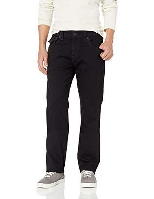 True Religion Men's Ricky Straight Jean with Flap