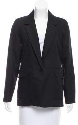 Alexander Wang Long Sleeve Notch-Lapel Jacket
