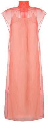 Prada sheer tulle dress
