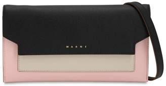Marni (マルニ) - MARNI TRUNK サフィアーノレザー ウォレットチェーンバッグ