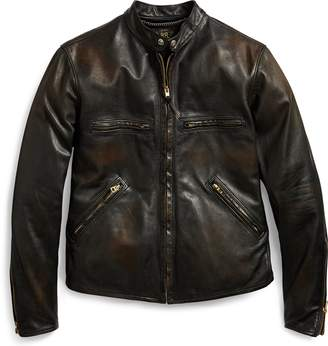 Ralph Lauren Slim Fit Leather Jacket