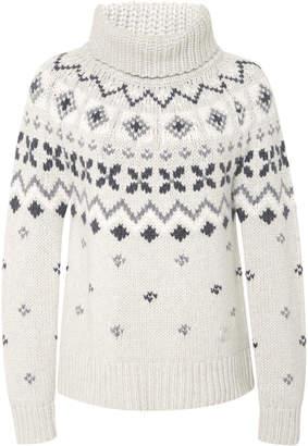 Bogner x White Cube Sinta Intarsia Cashmere Turtleneck Sweater