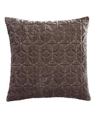 Fashion World Geo Velvet Quilted Cushion