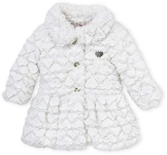 Juicy Couture Toddler Girls) Snow Cap Faux Fur Jacket