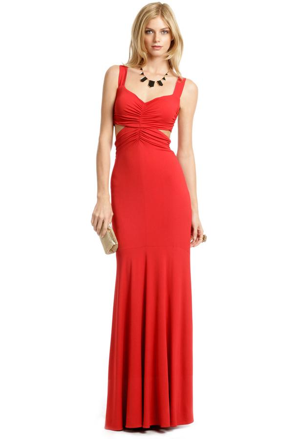 Narciso Rodriguez Santa Fe Cutout Gown