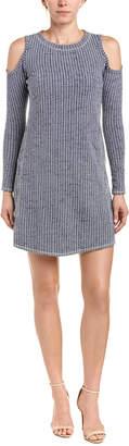 Sol Angeles Cold-Shoulder Shift Dress
