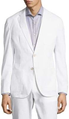 HUGO BOSS Novak Cotton Suit Jacket