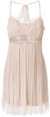 Alberta Ferretti Chiffon lace dress