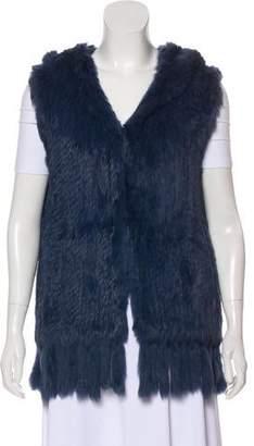Artelier Fur Hooded Vest