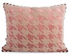Mackenzie Childs Patisserie Houndstooth Pillow