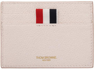 Thom Browne Pink Single Card Holder