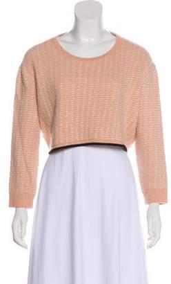 Rachel Comey Alpaca Cropped Sweater