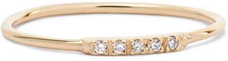 Loren Stewart 14-karat Gold Diamond Ring