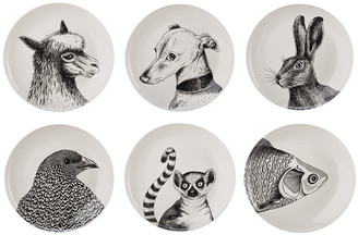 Pols Potten Animals Salad Plates - Set of 6