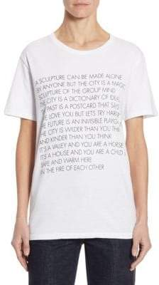 Each X Other Graphic Cotton Tee