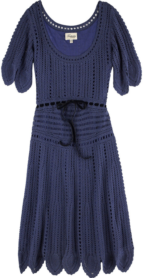 Temperley London Crochet dress