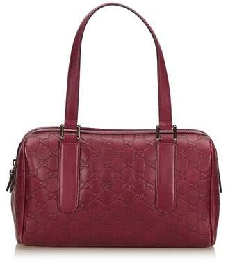 Gucci Vintage Guccissima Charmy Shoulder Bag