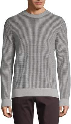 J. Lindeberg Textured Crewneck Sweater