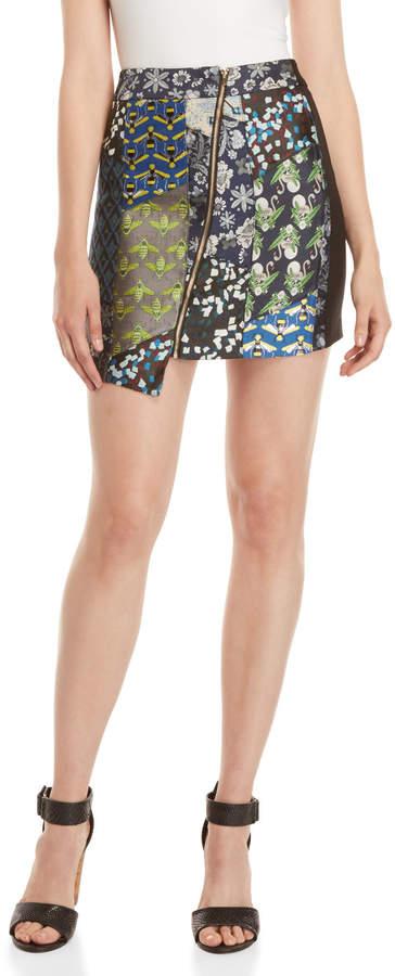 Desigual Jacquard Mini Skirt