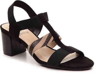 Women's Enid Sandal -Black/Tan $60 thestylecure.com
