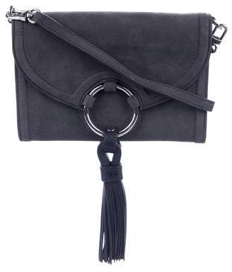 Tory Burch Leather Wallet On A Strap