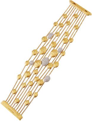 Marco Bicego 18k Gold Diamond Siviglia Multi-Strand Bracelet