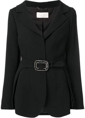 Alberta Ferretti embellished belted blazer